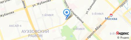 Компания промышленного альпинизма на карте Алматы