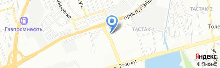 Kaz Led Media Group на карте Алматы