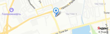 Glory на карте Алматы
