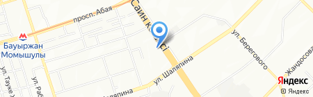 АДД-Кызмет на карте Алматы