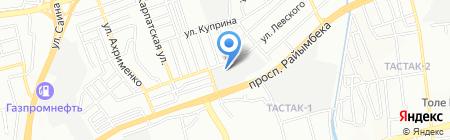 Алматыгидрогеология на карте Алматы