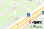 Схема проезда до компании FORTE в Алматы