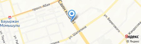Doner-Kebab на карте Алматы