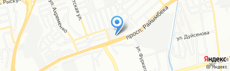 Баргузин Плюс на карте Алматы