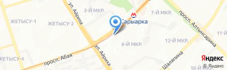 ЛИК на карте Алматы