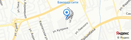 ПАДОЛКО на карте Алматы