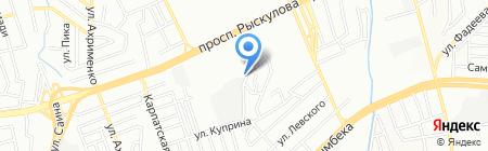МиГ Автосервис на карте Алматы