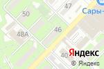 Схема проезда до компании Аида в Алматы