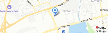 РОСС-ОЙЛ на карте Алматы