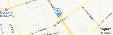 Академия на карте Алматы