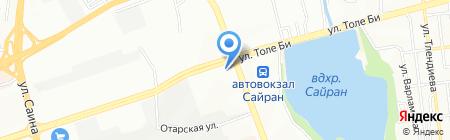 Eurasia Mountain на карте Алматы