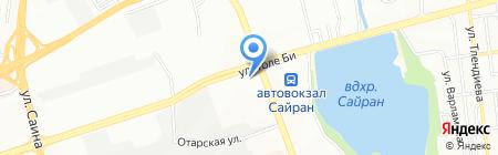T-SKLAD на карте Алматы
