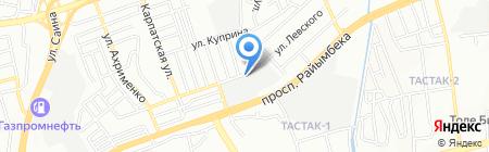 ОРНЕК на карте Алматы