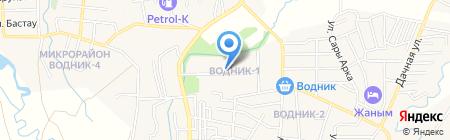 Автомойка на карте Боралдая