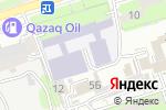 Схема проезда до компании Корд в Алматы