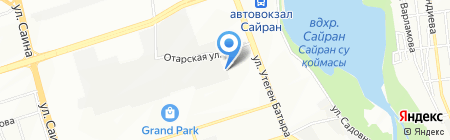 TANDEM Co. Ltd на карте Алматы