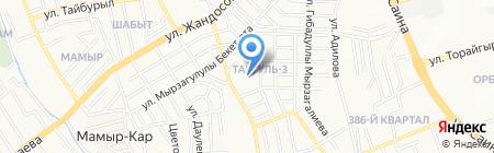 Гимназия №175 на карте Алматы