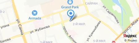 Отдел по ЧС Ауэзовского района ДЧС г. Алматы на карте Алматы