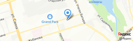 Корд на карте Алматы