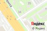 Схема проезда до компании Автолига в Алматы