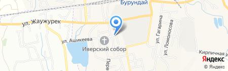 Нотариус Сокольникова Р.Е. на карте Боралдая