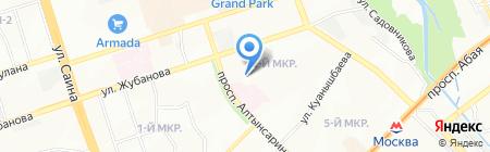Алим на карте Алматы