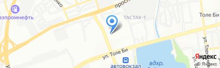 Искер-Газ на карте Алматы