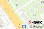 Схема проезда до компании Днам в Алматы