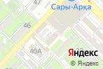 Схема проезда до компании Пивас в Алматы