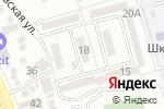 Схема проезда до компании 555 в Алматы