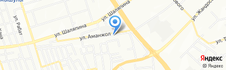 ЕШКО на карте Алматы