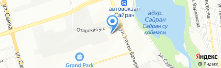 Febest-Almaty на карте Алматы