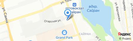 Комсомольская правда в Казахстане на карте Алматы
