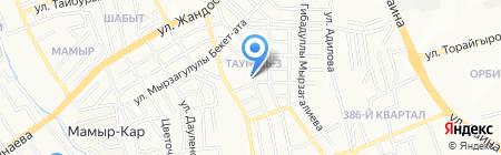 Ар-Дана на карте Алматы