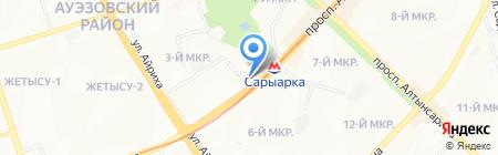Мекен Жай на карте Алматы