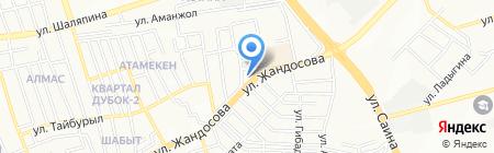 Бибигон на карте Алматы
