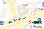 Схема проезда до компании Fashoin Lady в Алматы
