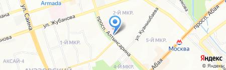 Фея чистоты на карте Алматы