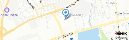 Charming Tour на карте Алматы