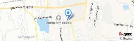Центр обслуживания населения на карте Боралдая