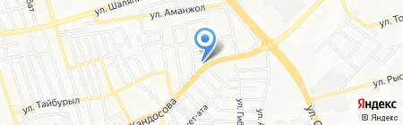 Жомарт на карте Алматы