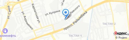Сауна на карте Алматы