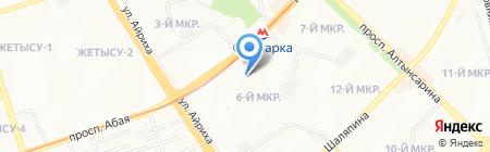 Горячая Выпечка пекарня-кондитерская на карте Алматы