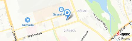 Казахский Водоканалпроект на карте Алматы