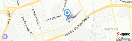 Институт Космической Техники и Технологий на карте Алматы