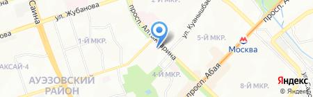 Мастерская на ул. 4-й микрорайон на карте Алматы