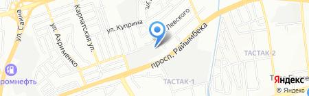 Изимов и К на карте Алматы