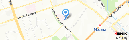 Ак ниет на карте Алматы