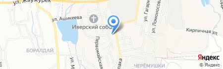 Gold на карте Алматы
