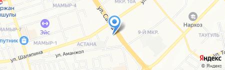 КазМунайГаз на карте Алматы